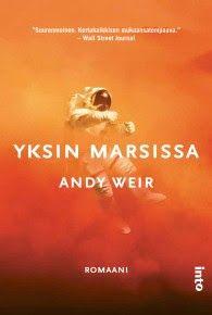 Ullan Luetut kirjat: Andy Weir Yksin Marsissa