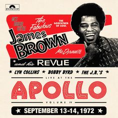 James Brown & Others: James Brown Revue – Live At The Apollo 1972 (2016 Record Store Day Release)