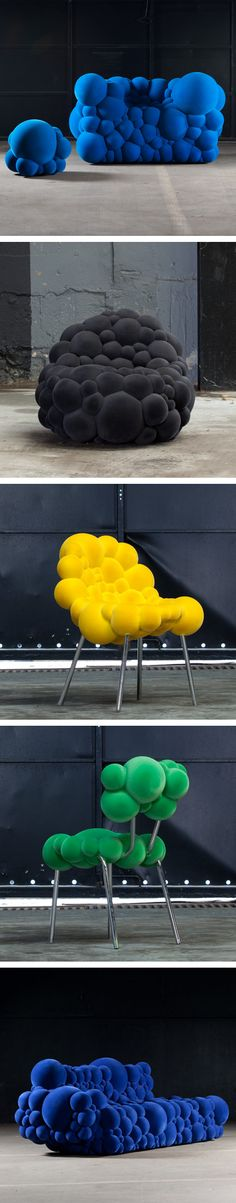 Mutation Seats By Belgian Designer Maarten De Ceulaer