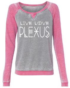 live love plexus comfy sweatshirt plexus slim Fleece Raglan Sleeve Sweater plexus swag plexus gear plexus clothes by PerfShirts on Etsy https://www.etsy.com/listing/266744366/live-love-plexus-comfy-sweatshirt-plexus