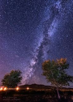 The Milky Way in the night skies of New Mexico