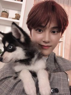Image in the boyz collection by ☆ em ☆ on We Heart It Boys Who, My Boys, Joo Haknyeon, Chang Min, Kim Sun, Bloom Baby, Cute Icons, Kpop Boy, Boyfriend Material