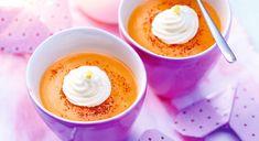 Saint-Valentin : Velouté de patate douce et gingembre
