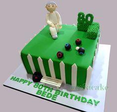Lawn Bowls Birthday Cake