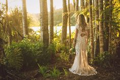 Beautiful brides in the forest by Greta Kenyon Photography