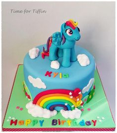 Rainbow Dash - Cake by Time for Tiffin