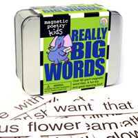 Really Big Words for Kids for sequencing, reading, and recognition