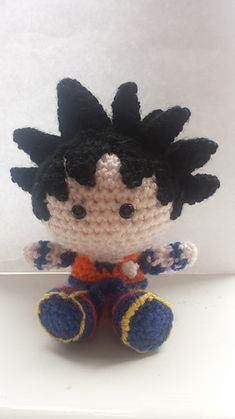 Dragon Ball Z - Goku crochet pattern - Visit now for 3D Dragon Ball Z shirts now on sale!