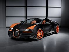 Bugatti to produce eight Veyron 16.4 Grand Sport Vitesse