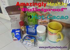 "Healthy #RawCaco ""BulletProof"" Coffee (cacao) recipe  http://blog.purifyyourbody.com/2014/07/bulletproof-hot-cacao-recipe-healthy.html"