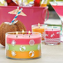 Jar Candles in the new Beach Fragrance collection for 2015