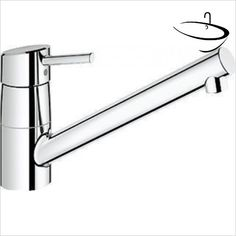 Grohe Kitchen Mixer Taps - Concetto Sink Mixer 1/2'' Grohe Kitchen Taps, Kitchen Mixer Taps, Double 11, Montage, Home Improvement, I Shop, Sink, Home And Garden, Home Appliances