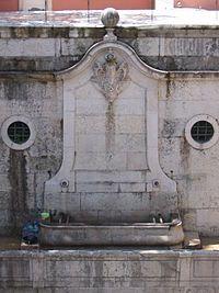 Chafariz de São Sebastião da Pedreira – Lisboa