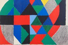 Sonia Delaunay, 'Polyphony,' 1971, Gilden's Art Gallery