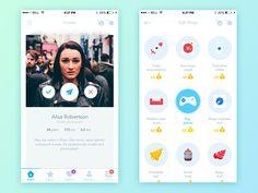 Pindeft - Mobile App by Yaroslav Zaytsev