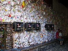 write a note on this wall.....Juliet's wall | La Casa di Giulietta , Verona by SuBho_photography, via Flickr