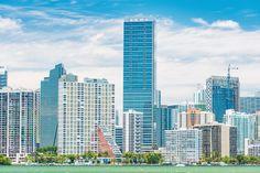 Desde el horizonte de Miami se denota su  modernidad, especialmente en sus más grandes e importantes edificios. http://www.bestday.com.mx/Miami-area-Florida/Atracciones/
