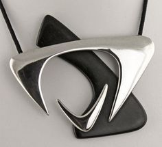 Necklace | Everett MacDonald.  Sterling silver.  1950