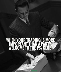 Your trading is important so learn more about forex and stocks every day. Wolf of Wall Street. Money stacks.