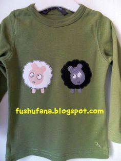 FushuFana: Ovejas / Sheep (applique)