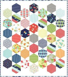 Happy Go Lucky Quilt Kit Includes Pattern Plus Moda Fabric by Bonnie Camille | eBay