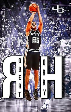 Spurs Robert Horry  graphics by justcreate Sports Edits