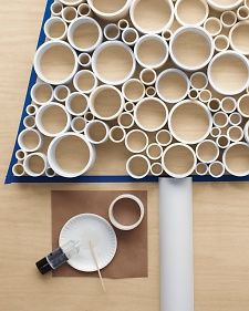 PVC-Pipe Tree | Step-by-Step | DIY Craft How To's and Instructions| Martha Stewart