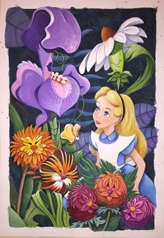Best Ideas for wallpaper cartoon disney characters alice in wonderland Alicia Wonderland, Alice In Wonderland Flowers, Alice In Wonderland Party, Adventures In Wonderland, Alice In Wonderland Artwork, Alice In Wonderland Cartoon, Alice In Wonderland Background, Alice In Wonderland Original, Alice In Wonderland Illustrations