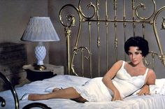 Elizabeth Taylor's white slip from Cat on a Hot Tin Roof. Nobody worked a white slip better than Elizabeth Taylor. Elizabeth Taylor, Elizabeth Montgomery, Queen Elizabeth, Golden Age Of Hollywood, Classic Hollywood, Old Hollywood, Hollywood Glamour, Hollywood Actresses, Brigitte Bardot