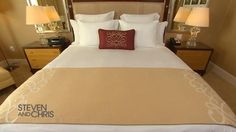 How To Make A Hotel Bed