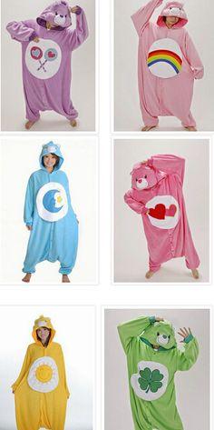 care bear costume Care Bears Movie II: A New Generation Care Bears Halloween Costume, Care Bear Costumes, Onesie Costumes, Bear Halloween, Group Halloween Costumes, Group Costumes, Cute Halloween, Cute Onesies, Cute Pjs