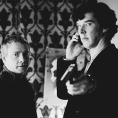 """""""John, take Mrs. Hudson downstairs and look after her."""" """"Aren't you going to explain--"""" """"I expect so. Now go."""""""