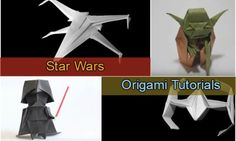 Easy Star Wars Origami Video Instructions