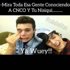 Read Wuey from the story CNCO MEMES© by Annstylxs (✿Ann✿) with reads. Memes Cnco, Funny Memes, O Love, I Love Him, Twin Sisters, Reggae, All About Time, Funny Pictures, Fandoms