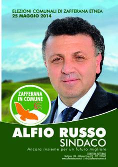I nostri Candidati: Alfio Russo #ZafferanainComune #AlfioRussoSindaco
