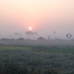 Good morning from Bardia, Nepal! #himalayanjourney #Nepal #wanderlust #sunrise
