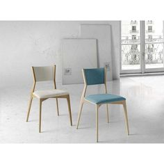 silla moderna tapizada,apilable,Leger,Nacher