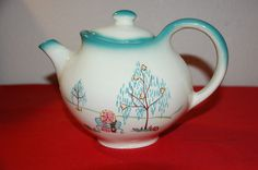 forever yours, tea pot ~ Brock of California... from the 50's
