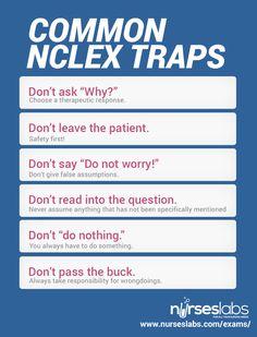 NCLEX Traps