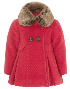 Baby Victoria Coat | Pink | Monsoon