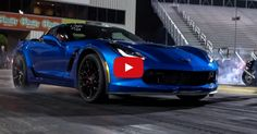 Lady Running 10 Seconds in her Bone Stock 2015 Corvette C7