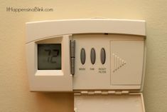 How to Clean the Air Return Vent Cover Air Return Vent Cover, Vent Cleaning, Vent Covers, Flip Clock