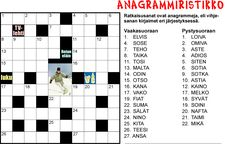 Anagrammiristikko