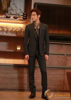 KimBum, not really my type (prob. due to his super baby face), but he is SO handsome here.