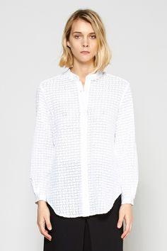 Apiece Apart | Augustina Button-Up Lace Shirt | MYCHAMELEON.COM.AU