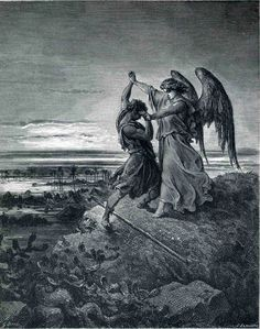 Dore. Jacob wrestling with the Angel
