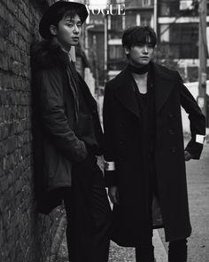 Park Seo Joon & Hyungsik (ZE:A) - Vogue Magazine December Issue '16