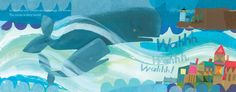 Listen to Our World, illustrated by Melissa Sweet Bill Martin, Melissa Sweet, Our World, Whale, Swimming, Ocean, Books, Cards, Travel