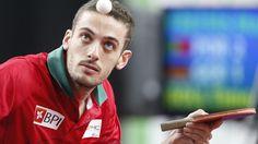 """Marcos Freitas é o 9.º melhor mesa-tenista do mundo. Melhor jogador português de sempre no """"ranking"""" mundial de ténis de mesa."""