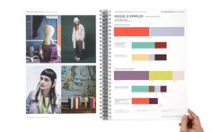Peclers Paris: Cahier de tendance COLORS TREND BOOK FALL WINTER 15-16